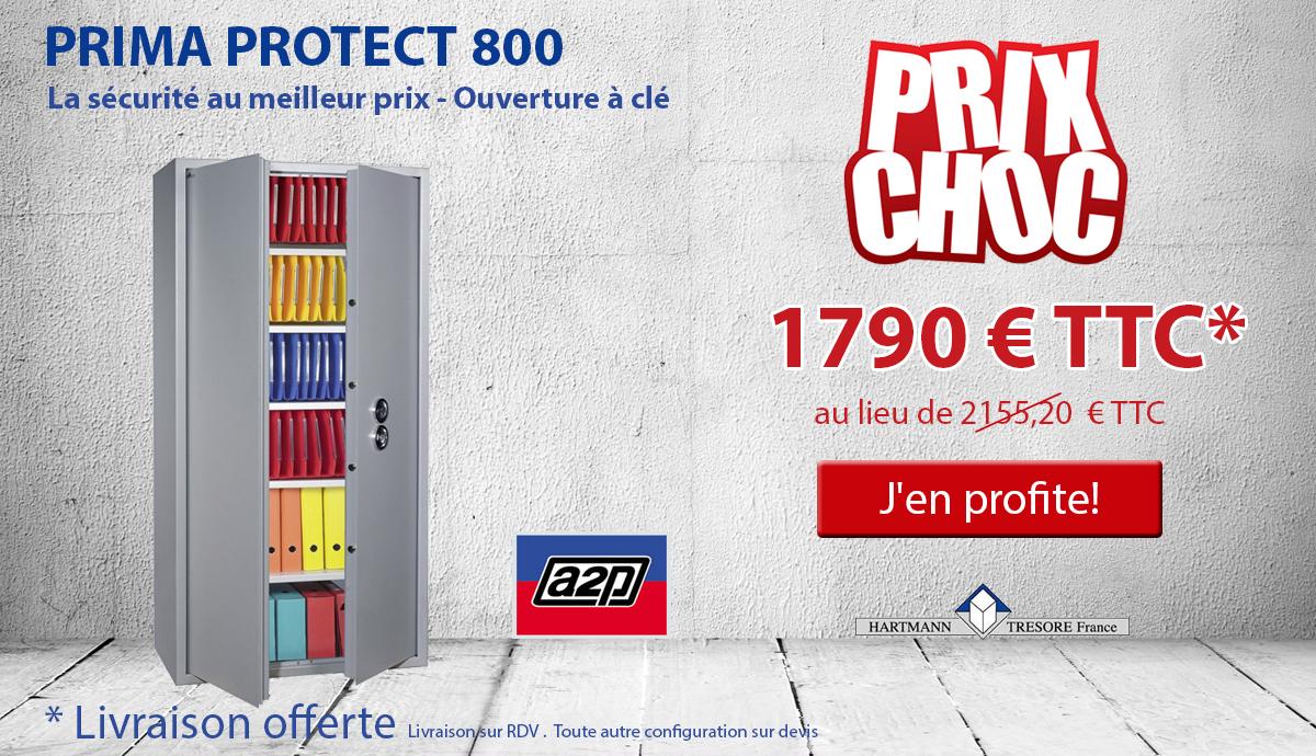 Hartmann Tresore - PRIMA PROTECT 800 - Armoire forte