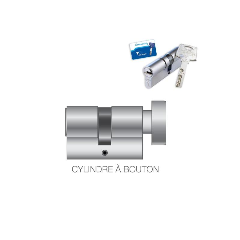 Cylindre de serrure à bouton Mul-T-Lock INTERACTIVE PLUS 262S - Cylindres -  Votre Centre Sécurité