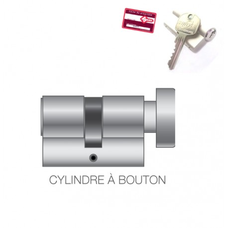 Kaba STEM 2000 Cylindre à bouton