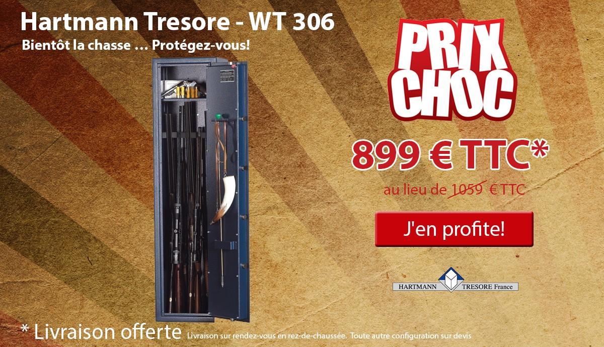 Hartmann Tresore - WT 306 - Armoire à fusils