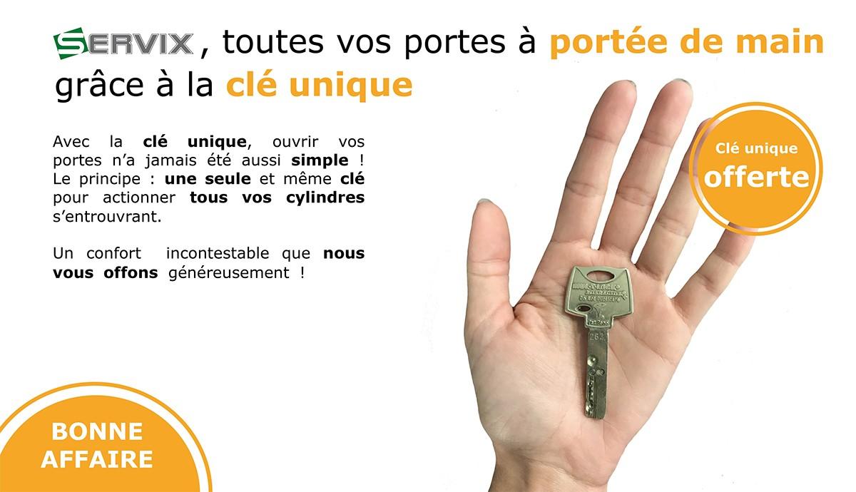Toutes vos potes à portée de main grâce à la clé unique